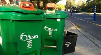 Plastic bags in green bins OK in Ottawa as of today