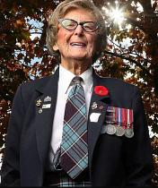 'Everyone did it': Humble Ottawa veteran recalls her war years