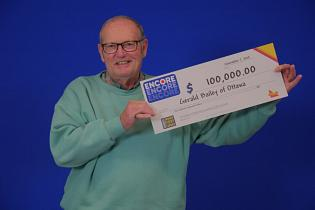 Ottawa grandfather gets $100,000 surprise